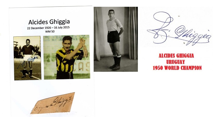Alcides Ghiggia -Uruguay 1950 World champion